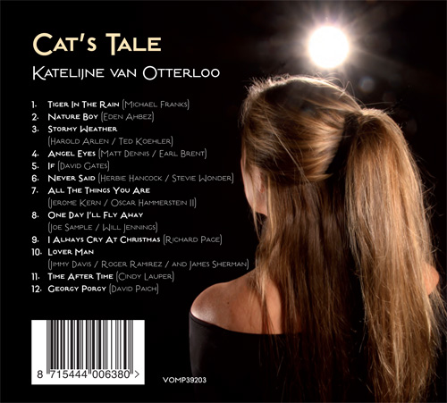 CD Cat's Tale achterkant